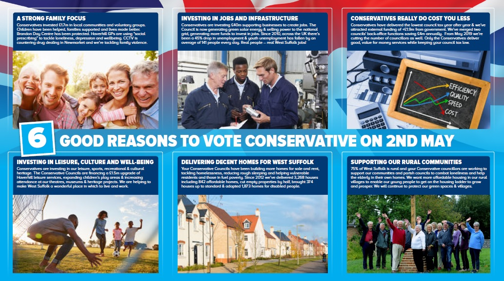 6 Reasons to Vote Conservative