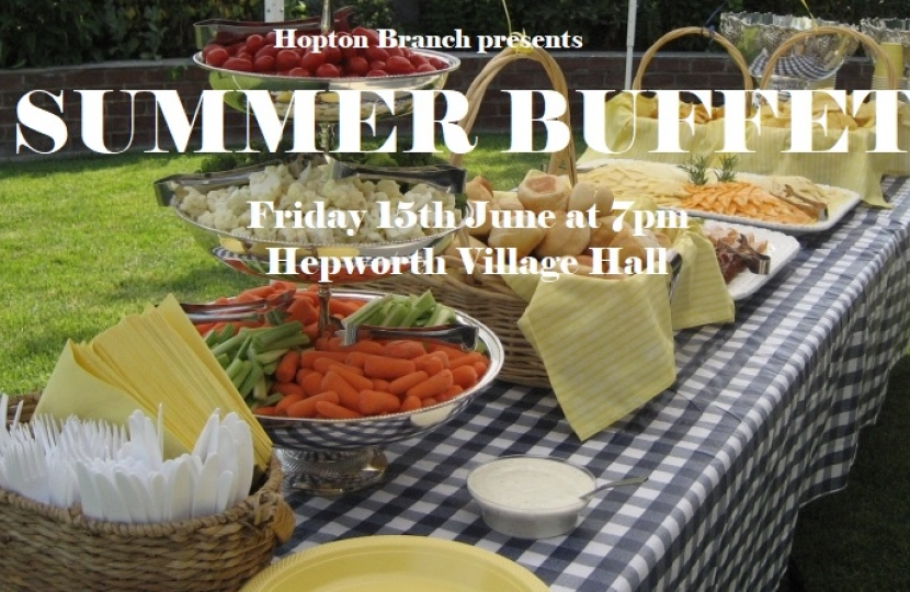 Hopton Summer Buffet